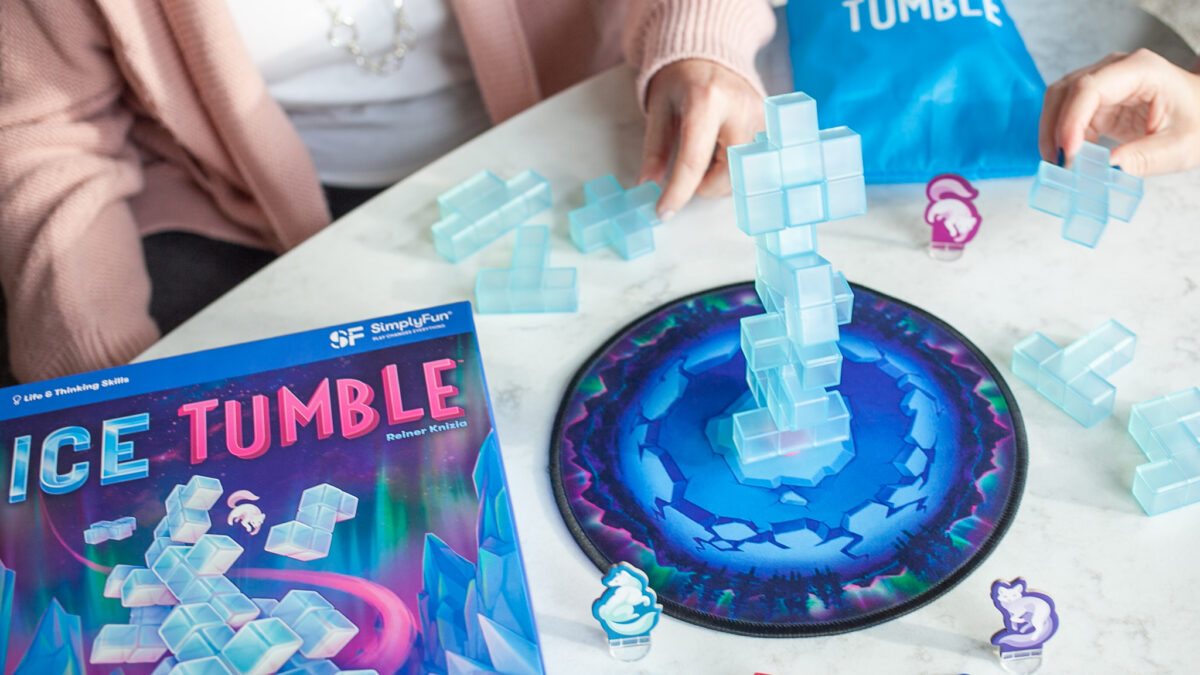 Ice Tumble educational game from SimplyFun