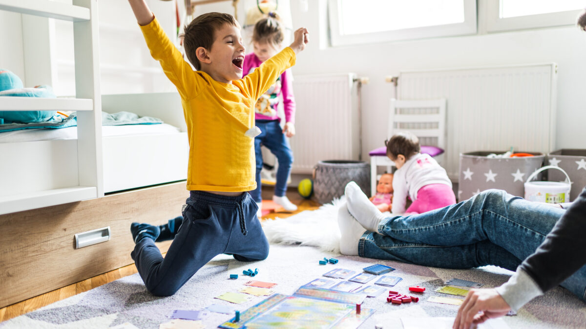 Play is important for children's mental health