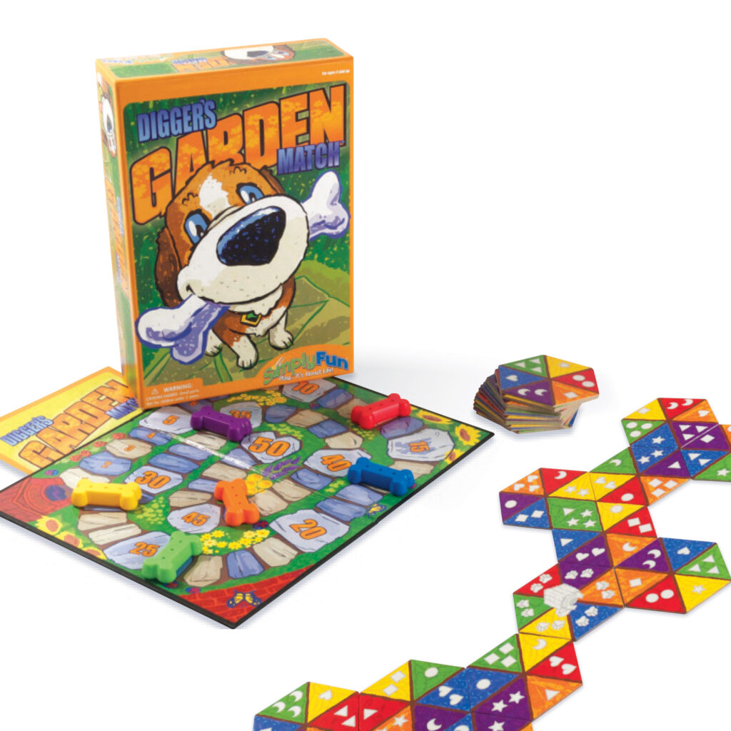 colors, shapes and counting game