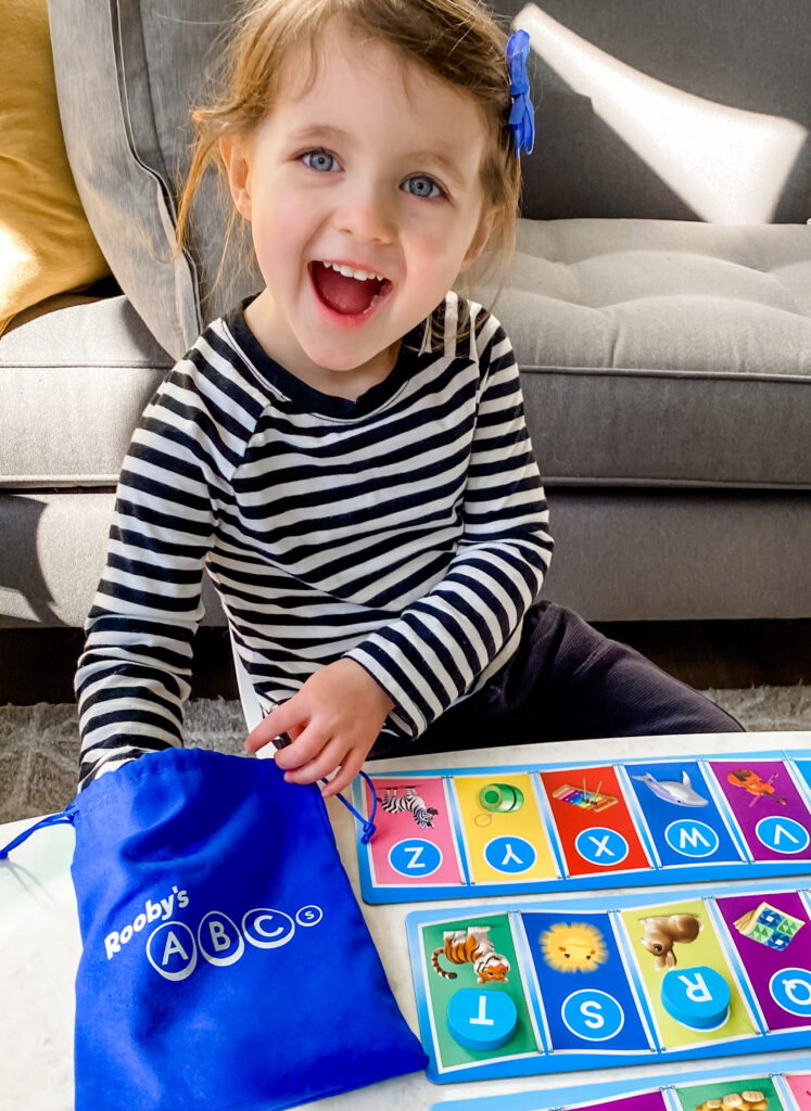 SimplyFun's newest early reading game Rooby's ABCs