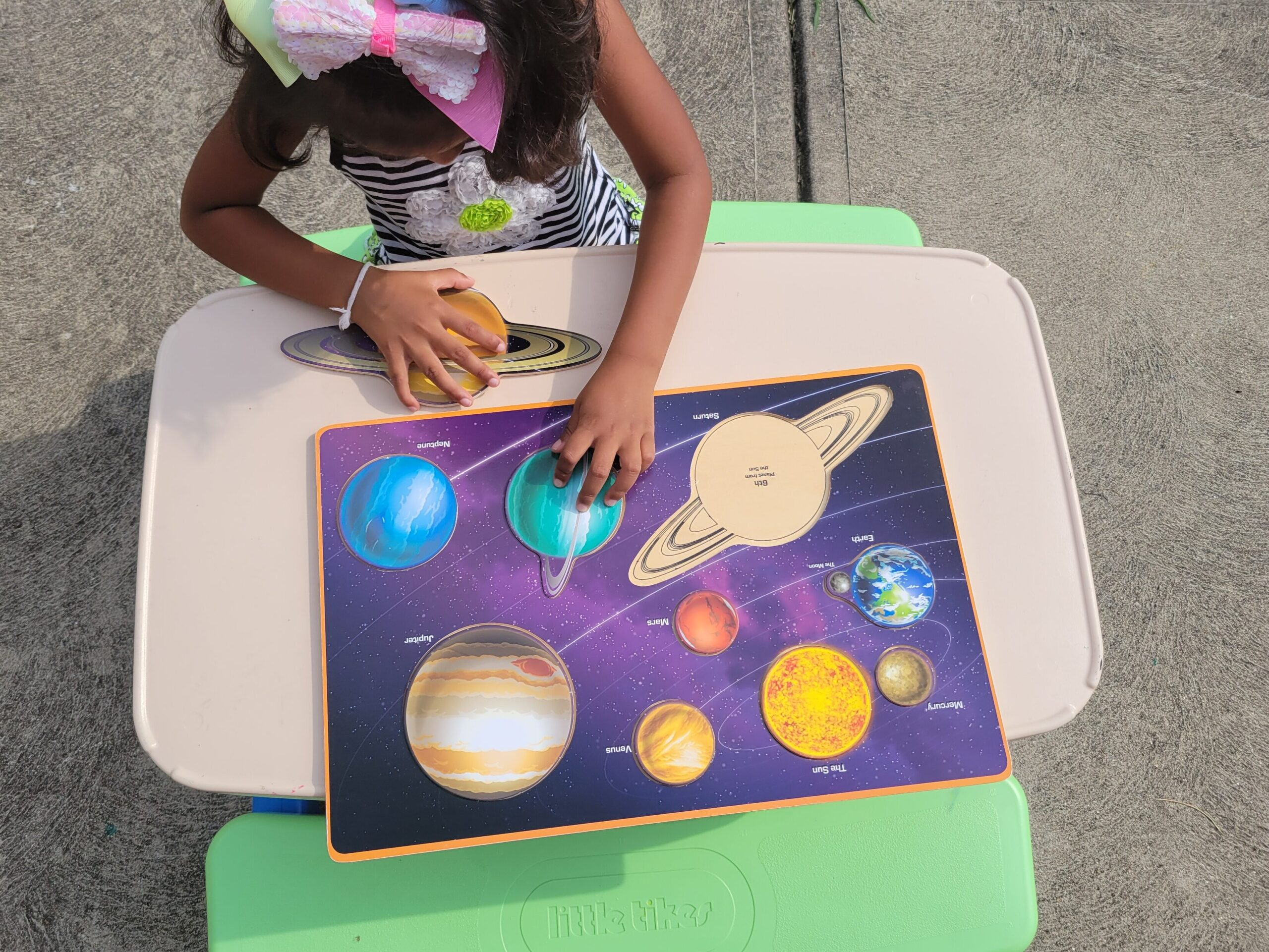 Our World Puzzle Set by SimplyFun encourages learning through play and supports back-to-school success
