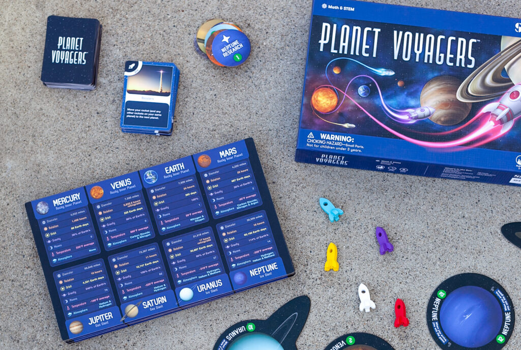 Strategy Board Games -Planet Voyagers Board Game